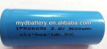 high capacity lifepo4 26650-3200mah,3.2v