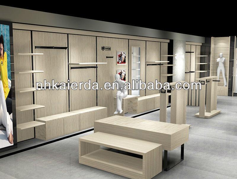 Garment Showroom Display For Menswear