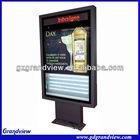 scrolling led advertising light board