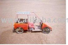 [super Deal] Solar Quadracycle Electric Car