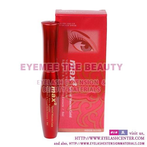 individual eyelash extensions. Eyelash Extension Mascara Gold