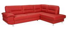 Alanis Leather Corner Sofa