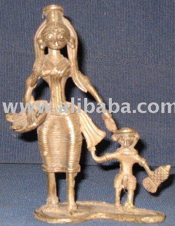 Handicrafts, Terracotta, Dokra (Metal Crafts) , Wooden Art Works