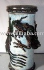 [super Deal] Umbrella Stand-Dragon, Teracotta Painted Pottery