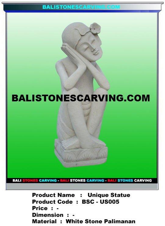 Unic Stone Statue