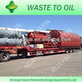 DENSITY 0.87 crude oil pyrolysis equipment/tyre oil plant