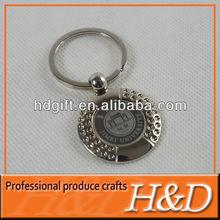 Custom Elegant Metal 2012 london olympic keychain