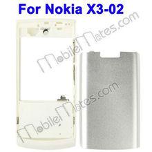 Cell phone housing for nokia Nokia X3-02&forNokia X3-02 complete cover cellphone cover