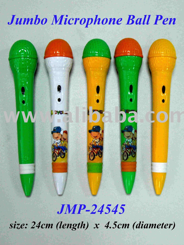 Jumbo Microphone Ball Pen