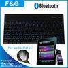 Aluminum backlight bluetooth ipad keyboard for IPAD/TABLET PC