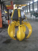 ISO-Certified hydraulic metal scrap grapple