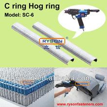 15 Gauge C 23 Staples for Pocket Springs Clinch Solution SC-6