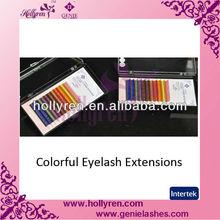 Extension Lashes Colorful False Eyelashes