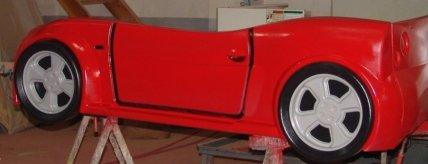 Racing Car Beds For Kids Kids Furniture-race Car Bed