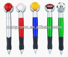 football shape ballpoint pen