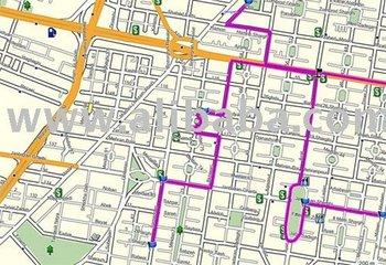 Iran Routable GPS Map for Garmin