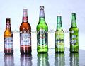 muitos tipos de cerveja de marca própria