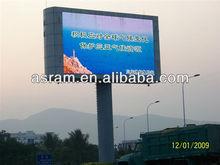 Shenzhen Asram LED Technology programmable P10 IP65 Outdoor LED Advertising Panel Full Color