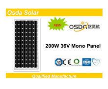 ODA200-36-M solar panels 200 watt
