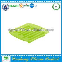 silicone long shape ice cube tray