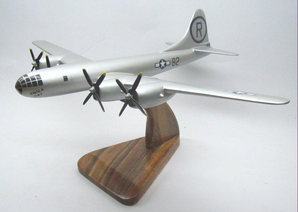 B-29 Enola Gay Airplane Wood Model