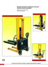STACKER TRUCKS (HYDRAULIC, BATTERY, ELECTRIC)