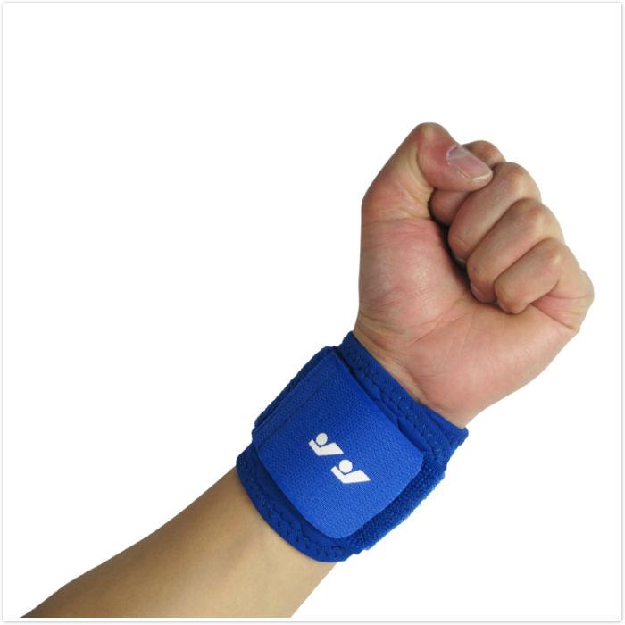 Sport Elastic Wristband Wrist Support Band Sweatband Gym Protector Gear