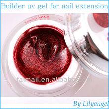 12 Colors Builder UV gel polish for Extension Nail Art Tips Decoration