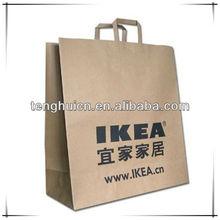 Brand logo paper bag craft paper bags