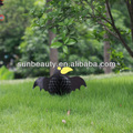 Schwarzer vogel oder krähe handwerk bienenwabepapier sh-1018 dekoration für halloween