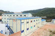 Real estate steel prefabricated modular light concrete structure