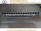 wood plastic composite die for pvc wpc hollow door board