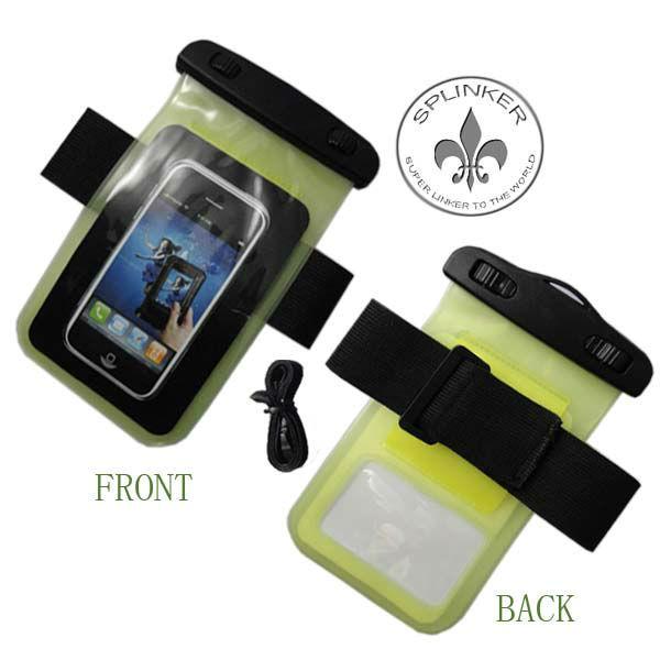 Wholesale Drawstring Swim Waterproof Bag For Iphone Holder P5517-57