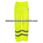 Fluorescent Yellow Reflective Work Pants