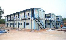 High cost-effective steel frame prefabricated modular steel structure box house