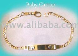 18k Baby Id Bracelets