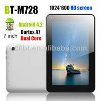 """7"""" tablet+pc+de+20+pulgadas with HD screen"""