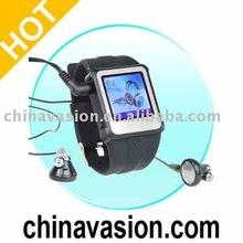 MP4 Wrist Watch Player 8GB Black - 1.5-inch Screen