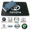 wholesale silk-screen silicone anti slip mat for Toyota