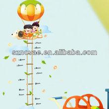 AM006 60*90cm Pumpkin Fire Ballon Kids Room Decorative Kids Height Wall Sticker