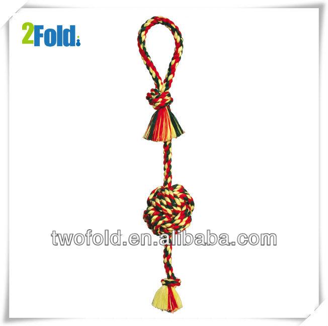 Cotton Rope Monkey Fist Bird Toy