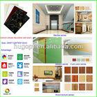 soft board art decoration, Europ standard, BS certification