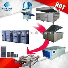 Fully Automatic 10MW 20MW 50MW 100MW Photovoltaic Solar Panel Production Line