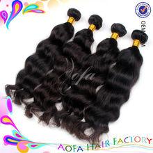 Double weft AAAAA grade unprocessed pound hair