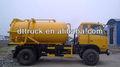 Abwasser saug lastwagen, auto verschmutzung vakuumpumpe, abwasser reinigen