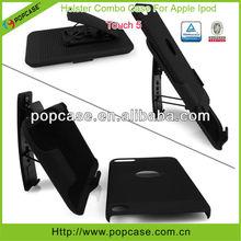 shell holster combo case for ipod touch 5 funda para celular