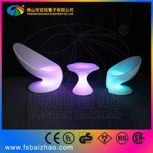 waterproof night club lighting illuminated led chair BA6008