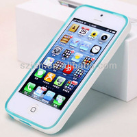 Customized protective cover tpu cell phone cases for iphone 5