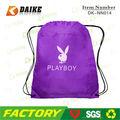 2013 Playboy marca com cordão de Nylon saco de viagem DK-NN014