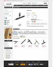 online selling sites web design for pens